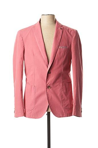 Veste chic / Blazer rose BRUNO SAINT HILAIRE pour homme