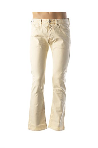 Pantalon casual jaune REPLAY pour homme