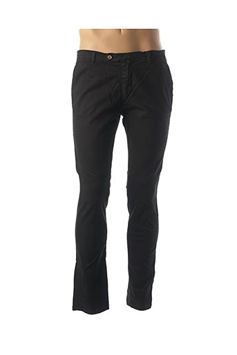 Pantalon casual noir INDIVIDUAL pour homme