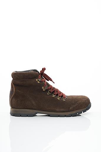 Bottines/Boots marron MCS pour homme