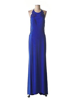 Robe longue bleu FASHION NEW YORK pour femme