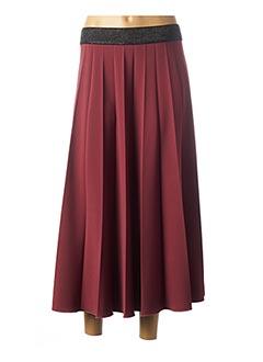 Jupe longue rose CARLA MONTANARINI pour femme