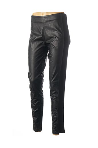Pantalon 7/8 noir DAMA MIA pour femme
