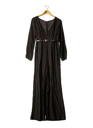 Combi-pantalon noir BSB pour femme