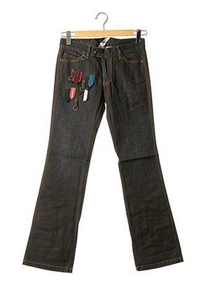 Jeans bootcut noir APRIL 77 pour femme