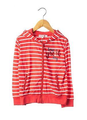 Veste casual rouge BOBOLI pour garçon