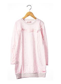 Robe mi-longue rose BOBOLI pour fille