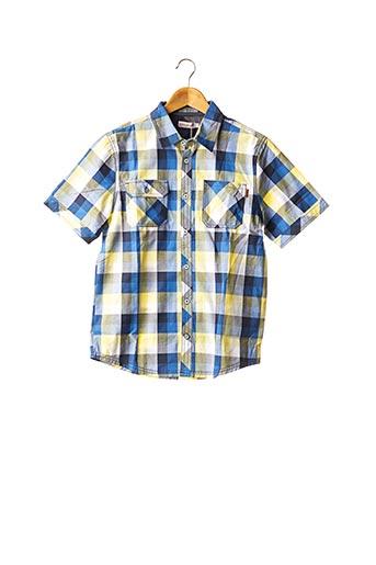 Chemise manches courtes bleu BOBOLI pour garçon