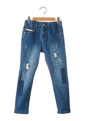 Jeans coupe slim bleu BOBOLI pour enfant