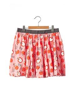 Jupe courte rouge BOBOLI pour fille