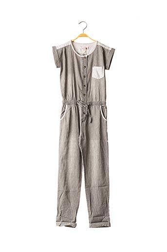Combi-pantalon gris BOBOLI pour fille