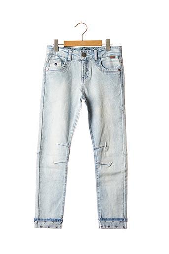 Jeans coupe slim bleu BOBOLI pour garçon