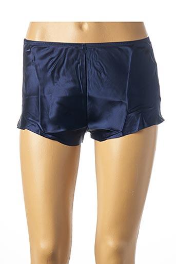 Pyjashort bleu SIMONE PERELE pour femme