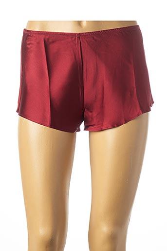Pyjashort rouge SIMONE PERELE pour femme