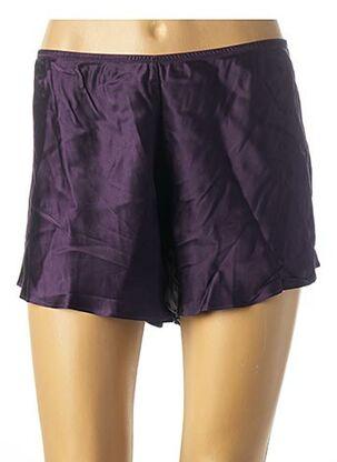 Pyjashort violet SIMONE PERELE pour femme