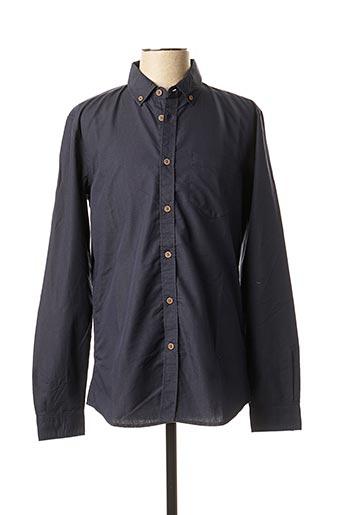 Chemise manches longues bleu TIFFOSI pour homme