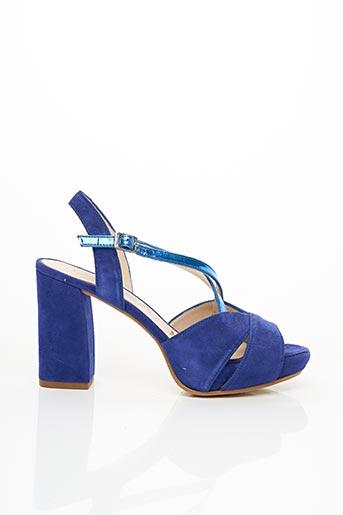 Sandales/Nu pieds bleu GADEA pour femme