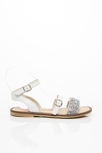 Sandales/Nu pieds blanc ROMAGNOLI pour fille
