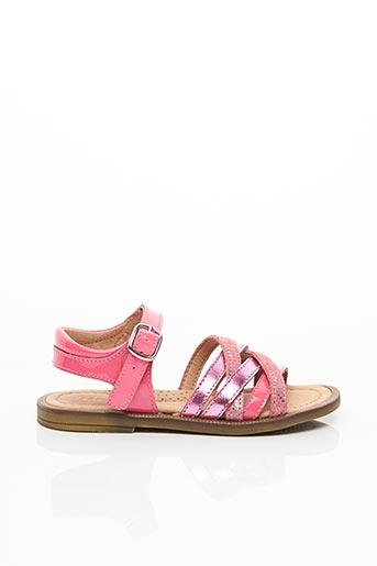 Sandales/Nu pieds rose ROMAGNOLI pour fille