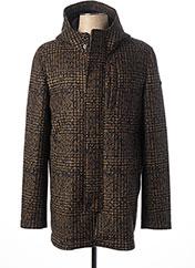 Manteau long marron MANUEL RITZ pour homme seconde vue