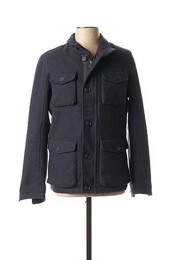 Manteau court bleu S.OLIVER pour homme