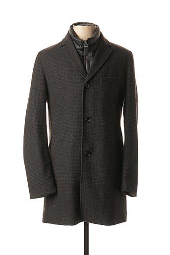 Manteau long noir S.OLIVER pour homme