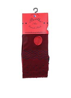 Collants rouge BERTHE AUX GRANDS PIEDS pour femme