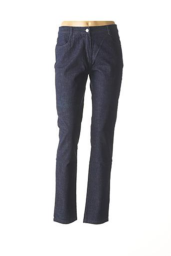 Jeans coupe slim bleu FREDA pour femme