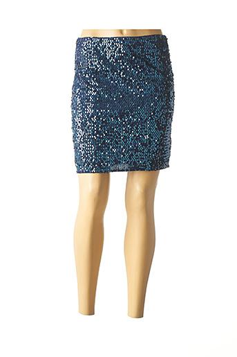 Jupe courte bleu MOLLY BRACKEN pour femme
