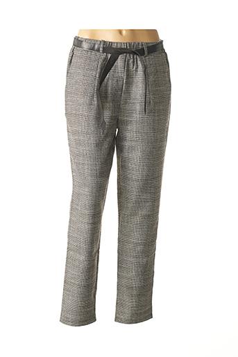 Pantalon chic marron MOLLY BRACKEN pour femme