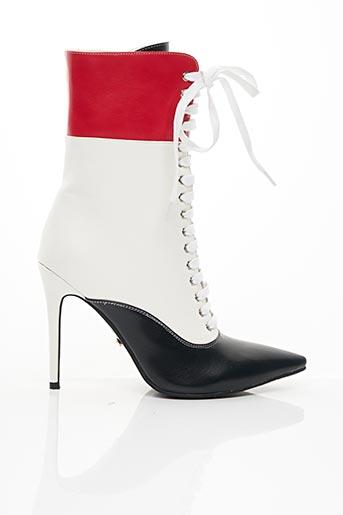 Bottines/Boots blanc BELLO STAR pour femme