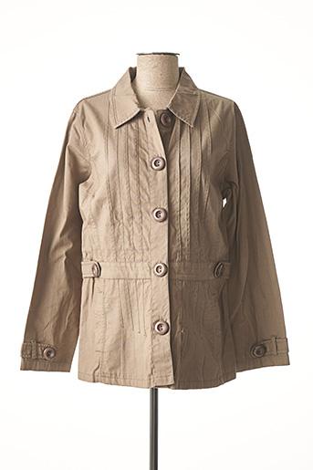Veste casual vert JAC JAC pour femme