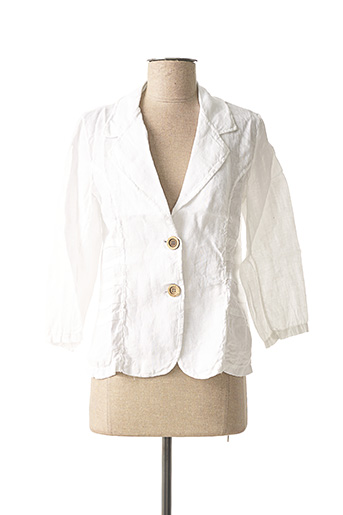 Veste chic / Blazer blanc MADE IN ITALY pour femme