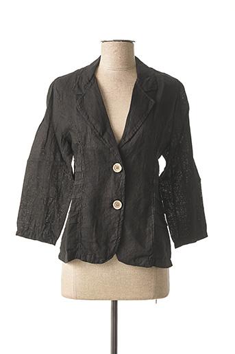 Veste chic / Blazer noir MADE IN ITALY pour femme