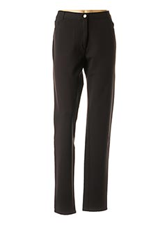 Pantalon casual noir COWEST pour femme