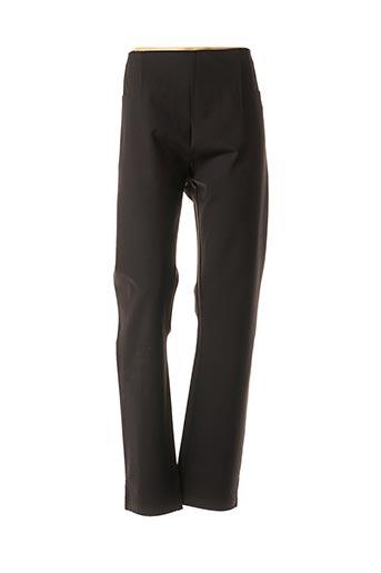 Pantalon casual noir DIANE LAURY pour femme