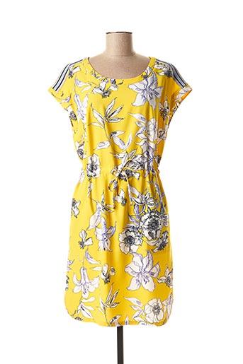 Robe mi-longue jaune BETTY BARCLAY pour femme