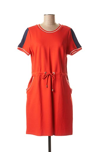 Robe mi-longue orange BETTY BARCLAY pour femme