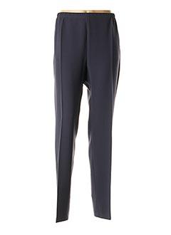 Pantalon chic bleu FRANCE RIVOIRE pour femme