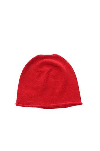 Bonnet rouge MARIA BELLENTANI pour femme