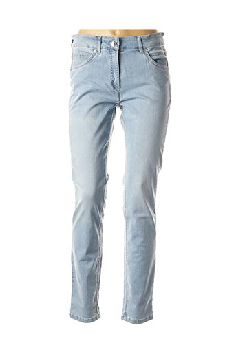 Jeans skinny bleu ZERRES pour femme