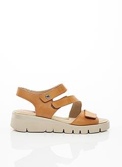 Sandales/Nu pieds marron FLUCHOS pour femme