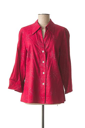 Veste casual rouge CIAO MAGRE pour femme