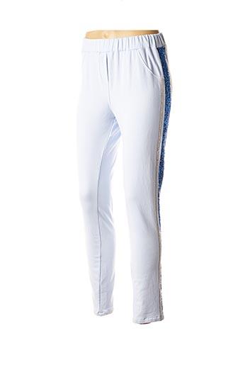 Jogging bleu POUPÉE DE SOIE pour femme