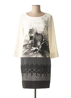 Robe courte blanc BLEU BLANC ROUGE pour femme
