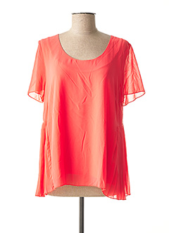 Top orange MYRINE & ME pour femme