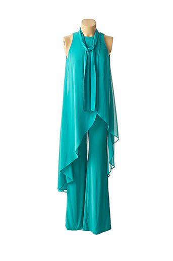 Combi-pantalon bleu EDAS pour femme