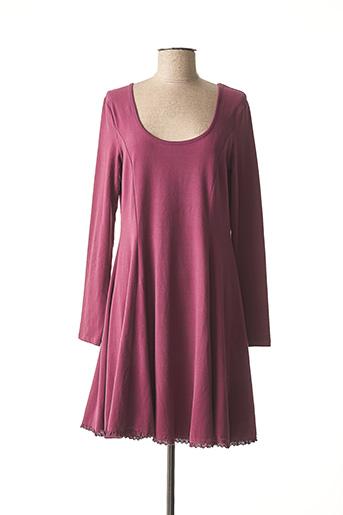 Robe mi-longue violet MYRINE & ME pour femme