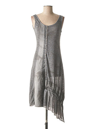 Robe pull gris ANGELS NEVER DIE pour femme