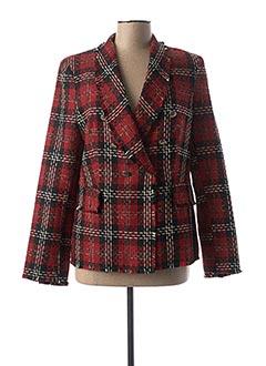 Veste chic / Blazer rouge LAUREN VIDAL pour femme